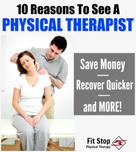 why you should see a physical therapist
