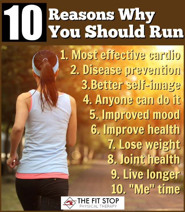 10 Reasons Why You Should Run