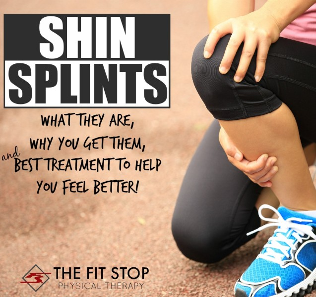 What are shin splints and how can I get rid of them?