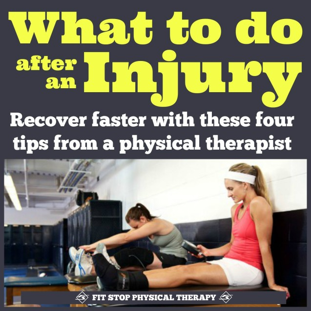 What to do after an injury