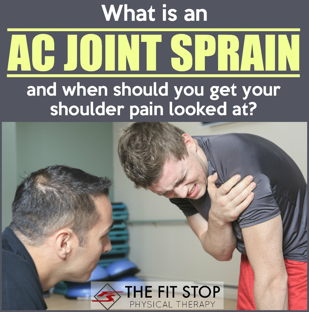 What Is An Ac Joint Separation Fit Stop Physical Therapy