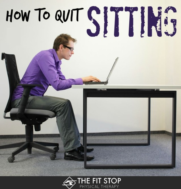 5 Tips To Help You Sit Less And Move More!
