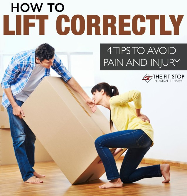 How to lift correctly