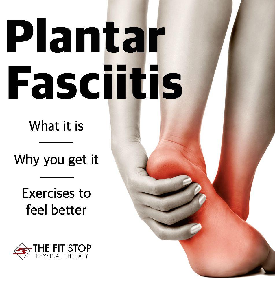 how to cut plantar fasciitis