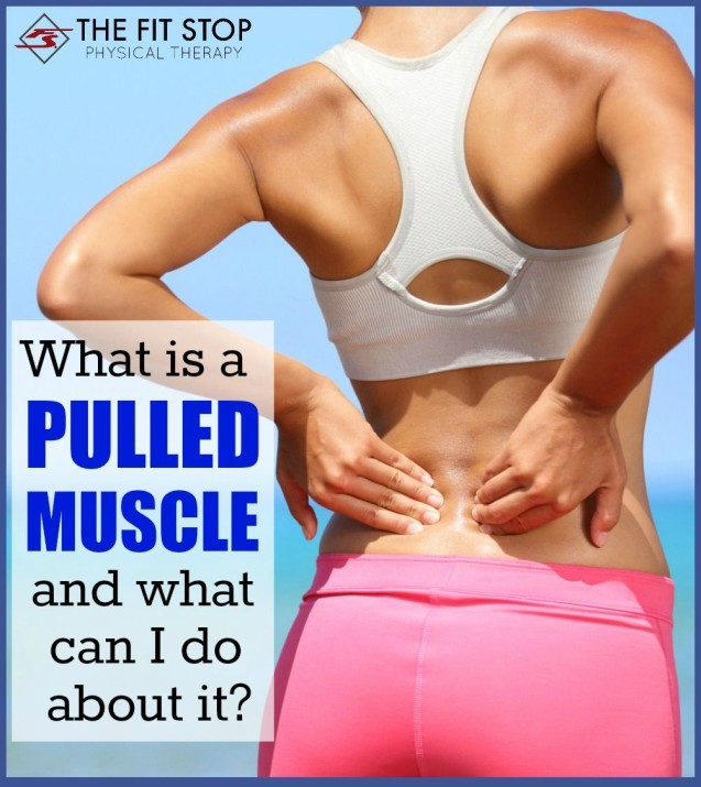 What is a pulled muscle and what can I do for it?