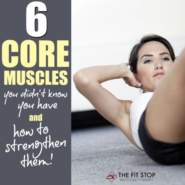 6 Core Muscles You Didn't Know You Had – And How To Train Them!