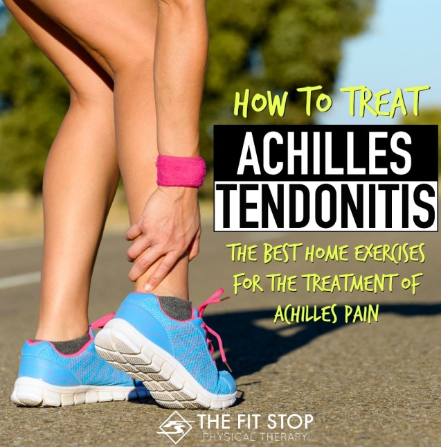 How to treat Achilles Tendonitis