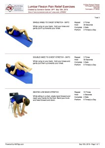 Flexion Exercises