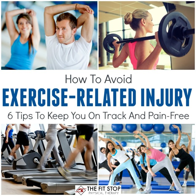 How to avoid exercise-related injury