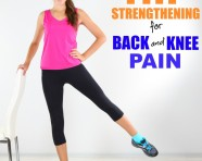 Strengthen the hips to keep the low back and knees healthy