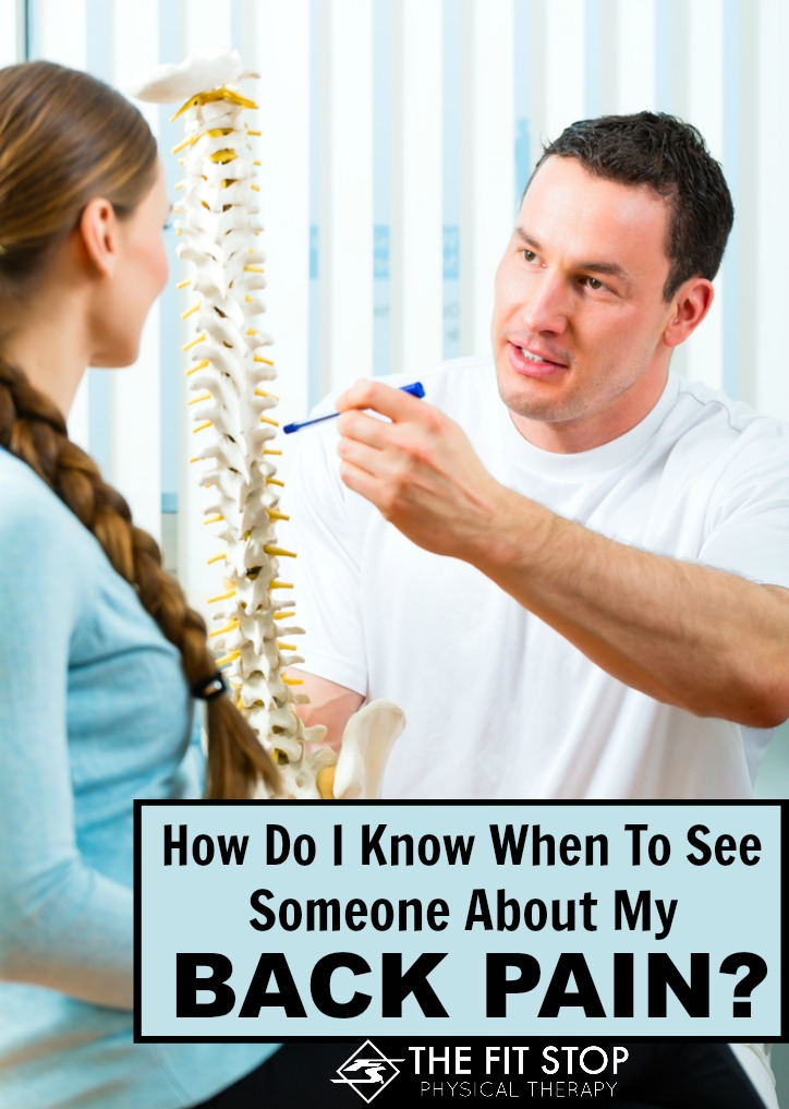 When to See a Doctor for Back Pain - WebMD